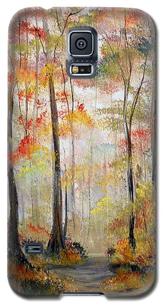 Forest Path Galaxy S5 Case by Dorothy Maier