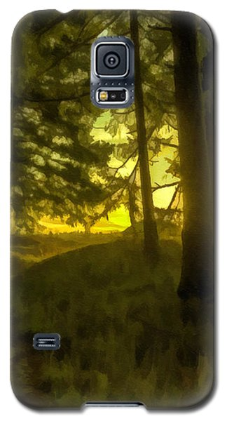 Forest Path Galaxy S5 Case by Jean OKeeffe Macro Abundance Art