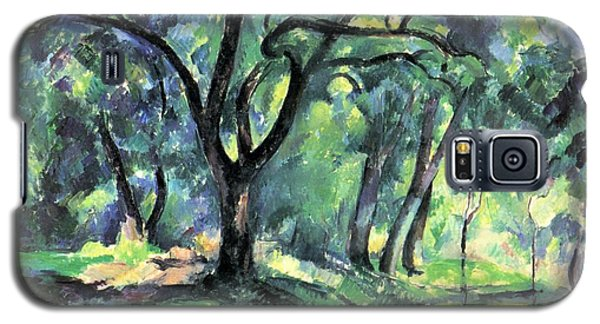 Galaxy S5 Case featuring the painting Forest by Paul Cezanne