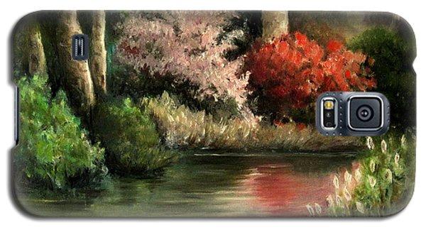 Forest Pond Galaxy S5 Case