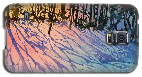 Forest Silhouettes Galaxy S5 Case by Teresa Ascone