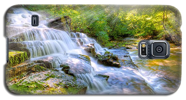 Forest Stream And Waterfall Galaxy S5 Case
