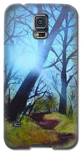 Forest Sunlight Galaxy S5 Case