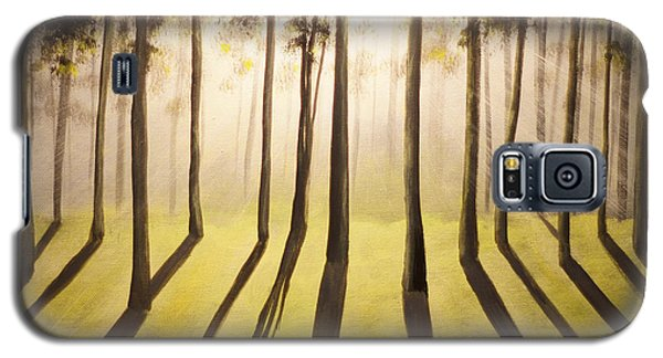 Forest Thru The Trees Galaxy S5 Case by Chris Fraser