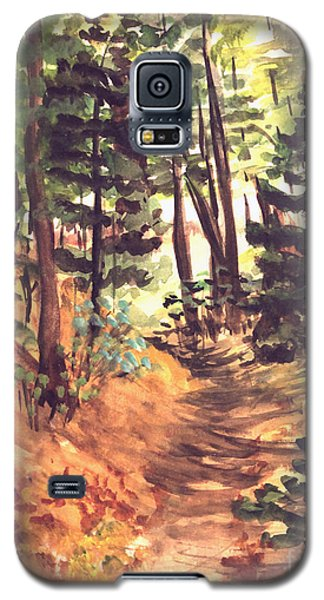 Forest Trail Michigan Galaxy S5 Case