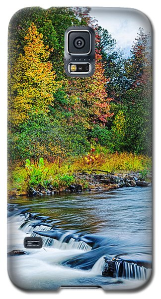 Foretelling Of A Storm Beaver's Bend Broken Bow Fall Foliage Galaxy S5 Case