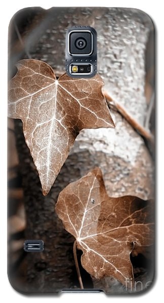 Galaxy S5 Case featuring the photograph Forever Entwined by Ellen Cotton