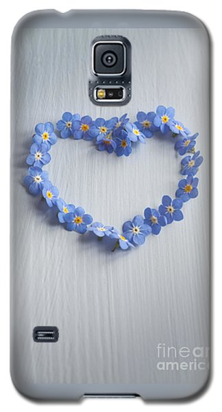 Forget Me Not Heart Galaxy S5 Case