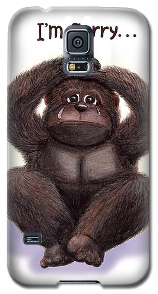 Forgive Me Galaxy S5 Case by Jerry Ruffin