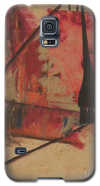 Galaxy S5 Case featuring the painting Forgive My Tears by Mini Arora