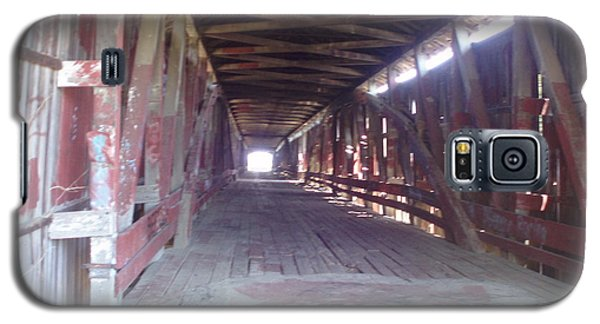 Galaxy S5 Case featuring the photograph Forgotten Tunnel by Fortunate Findings Shirley Dickerson