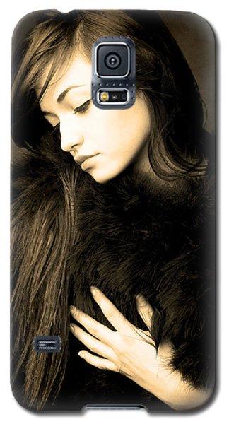 Forlorn Woman Galaxy S5 Case