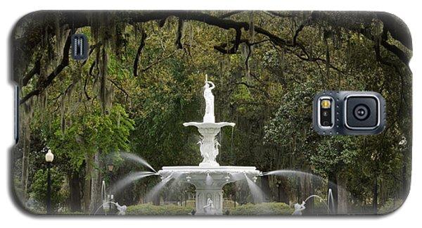 Forsyth Park Fountain - D002615 Galaxy S5 Case