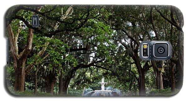 Forsyth Park Fountain Savannah Georgia  Galaxy S5 Case