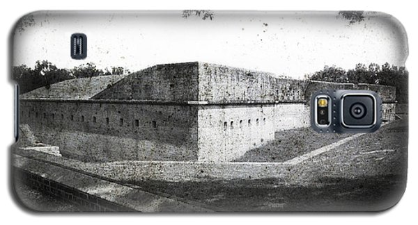Fort Barrancas Faux Civil War Era Photograph Galaxy S5 Case