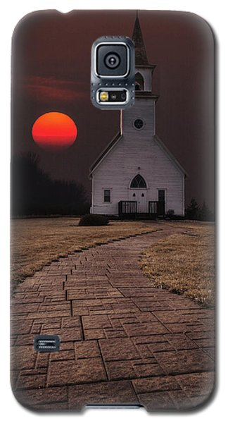 Fort Belmont Sunset Galaxy S5 Case