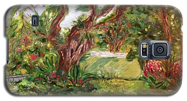 Galaxy S5 Case featuring the painting Fort Canning Wonderland by Belinda Low