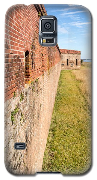 Galaxy S5 Case featuring the photograph Fort Clinch by Wade Brooks