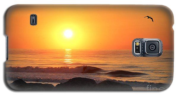 Galaxy S5 Case featuring the photograph Fort Fisher Sunrise Redux by Phil Mancuso