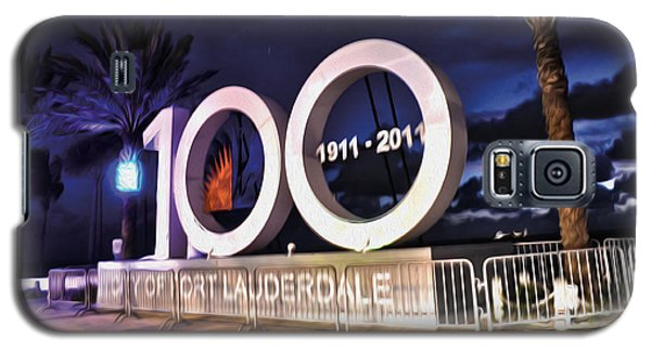 Galaxy S5 Case featuring the photograph Fort Lauderdale At 100 Years by Timothy Lowry