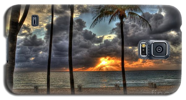 Fort Lauderdale Beach Florida - Sunrise Galaxy S5 Case by Timothy Lowry