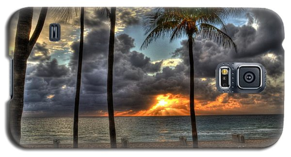 Galaxy S5 Case featuring the photograph Fort Lauderdale Beach Florida - Sunrise by Timothy Lowry