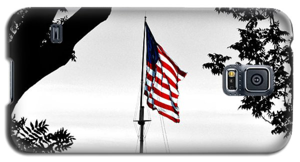 Fort Mchenry Flag Color Splash Galaxy S5 Case