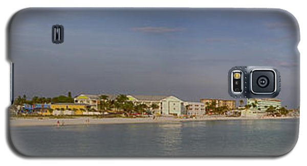 Fort Myers Beach Panorama Galaxy S5 Case by Anne Rodkin