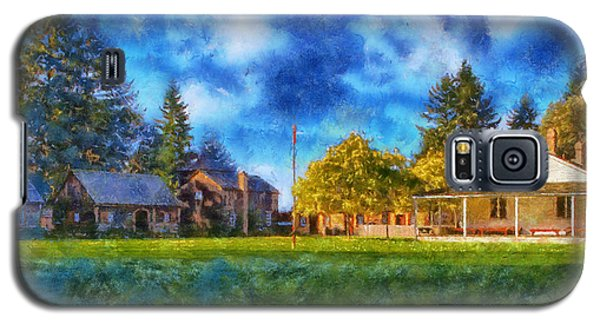 Galaxy S5 Case featuring the digital art Fort Nisqually by Kaylee Mason