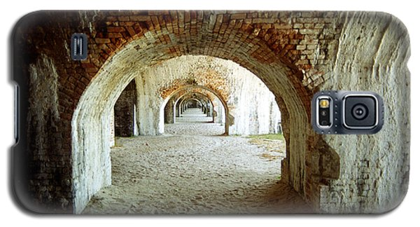 Galaxy S5 Case featuring the photograph Fort Pickens Arches by Tom Brickhouse