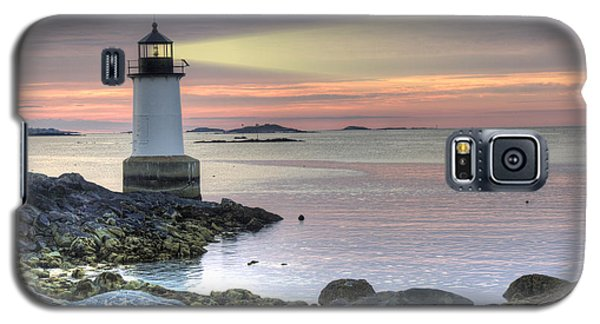 Fort Pickering Lighthouse At Sunrise Galaxy S5 Case