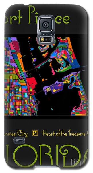 Fort Pierce Map No.2 Galaxy S5 Case