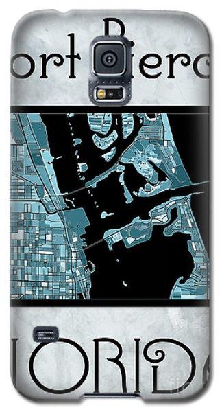 Fort Pierce Map No.4 Galaxy S5 Case