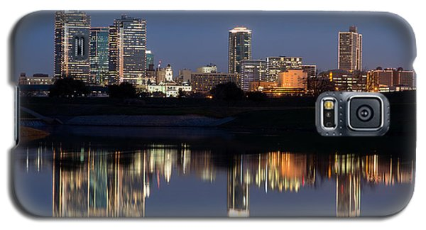 Fort Worth Skyline 020915 Galaxy S5 Case