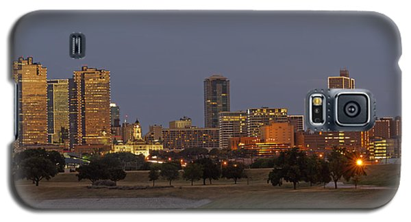 Fort Worth Skyline Golden Hour Galaxy S5 Case