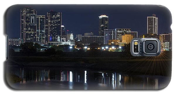 Fort Worth Skyline Super Moon Galaxy S5 Case