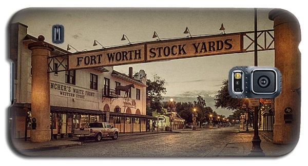 Fort Worth Stockyards Galaxy S5 Case