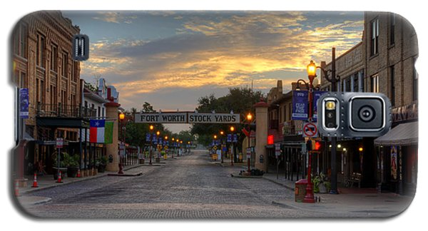 Fort Worth Stockyards Sunrise Galaxy S5 Case
