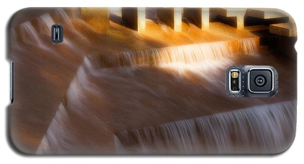 Fort Worth Water Gardens Steps Galaxy S5 Case