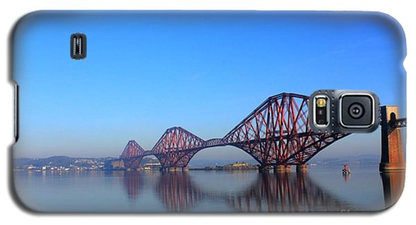 Galaxy S5 Case featuring the photograph Forth Rail Bridge by David Grant