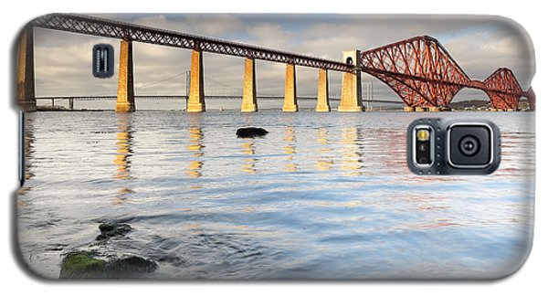 Forth Railway Bridge Galaxy S5 Case by Grant Glendinning