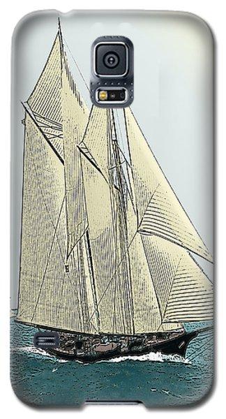 Fortuna - Schooner Yacht Galaxy S5 Case