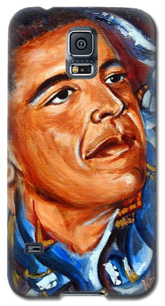Galaxy S5 Case featuring the painting Forward by Harsh Malik