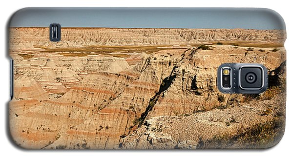Fossil Exhibit Trail Badlands National Park Galaxy S5 Case