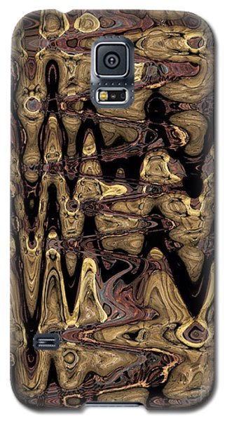 Galaxy S5 Case featuring the photograph Fossil Wave by Patricia Januszkiewicz