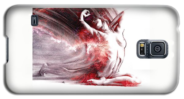 Fount Iv Textured Galaxy S5 Case by Paul Davenport