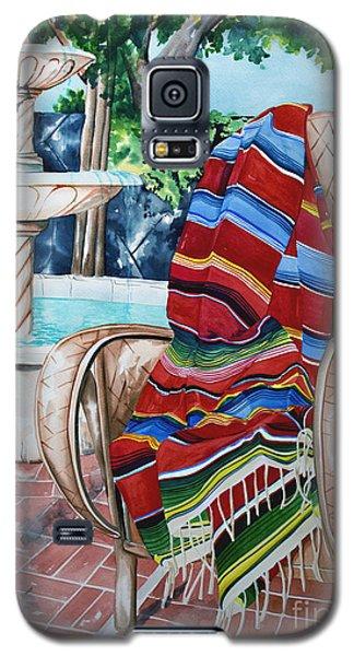 Fountain And Serape Galaxy S5 Case
