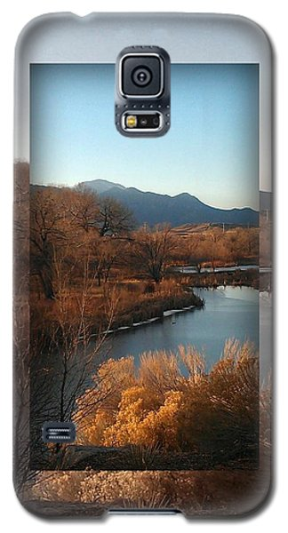 Galaxy S5 Case featuring the photograph Fountain Creek To Pikes Peak by Michelle Frizzell-Thompson