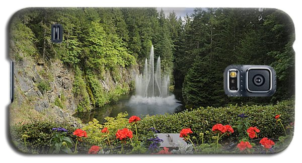 Fountain In Butchart Gardens Galaxy S5 Case