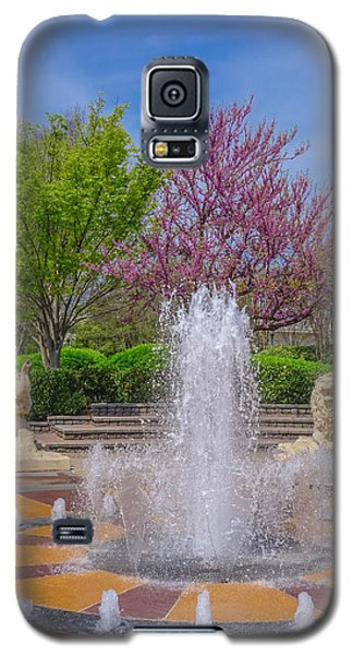 Fountain In Coolidge Park Galaxy S5 Case